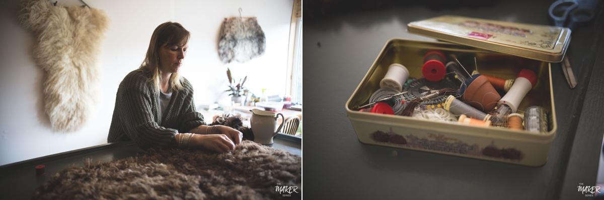 felted sheepskins studio