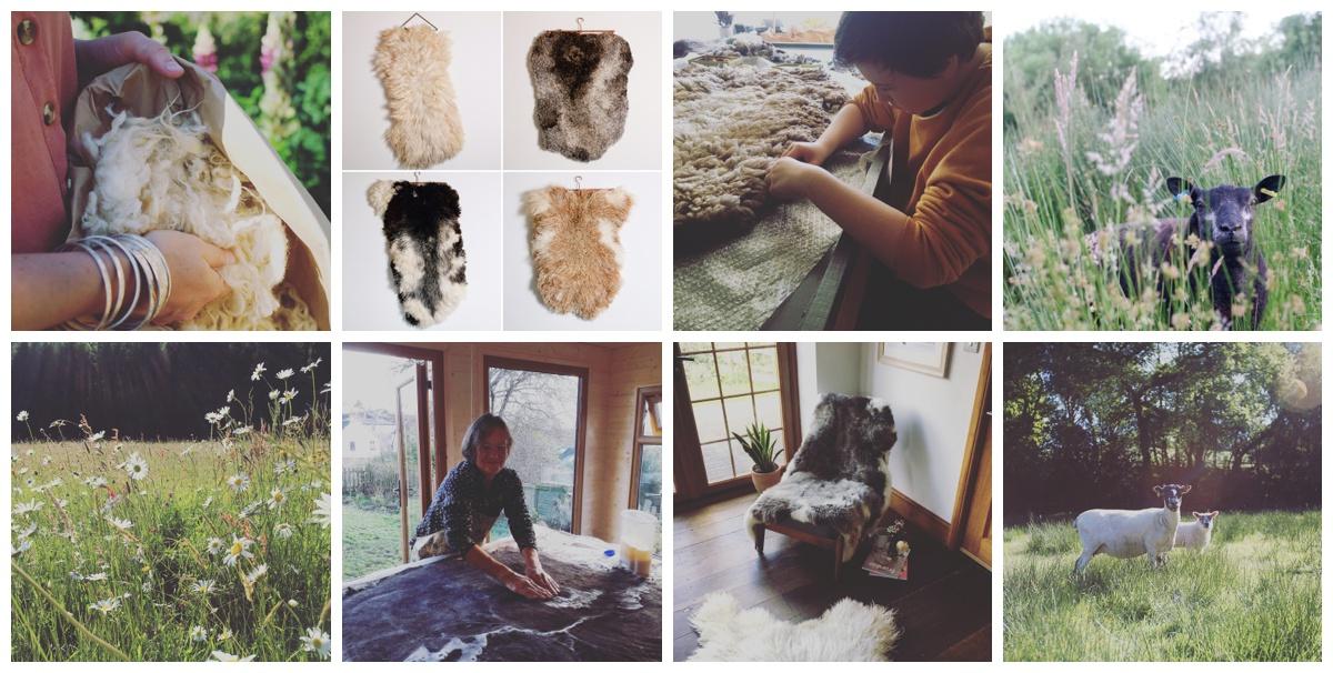 felted sheepskin workshop