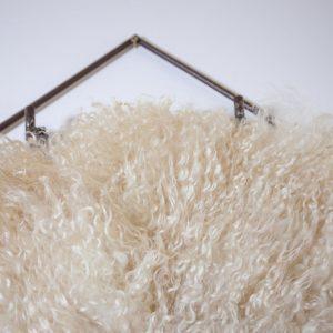 felted sheepskins